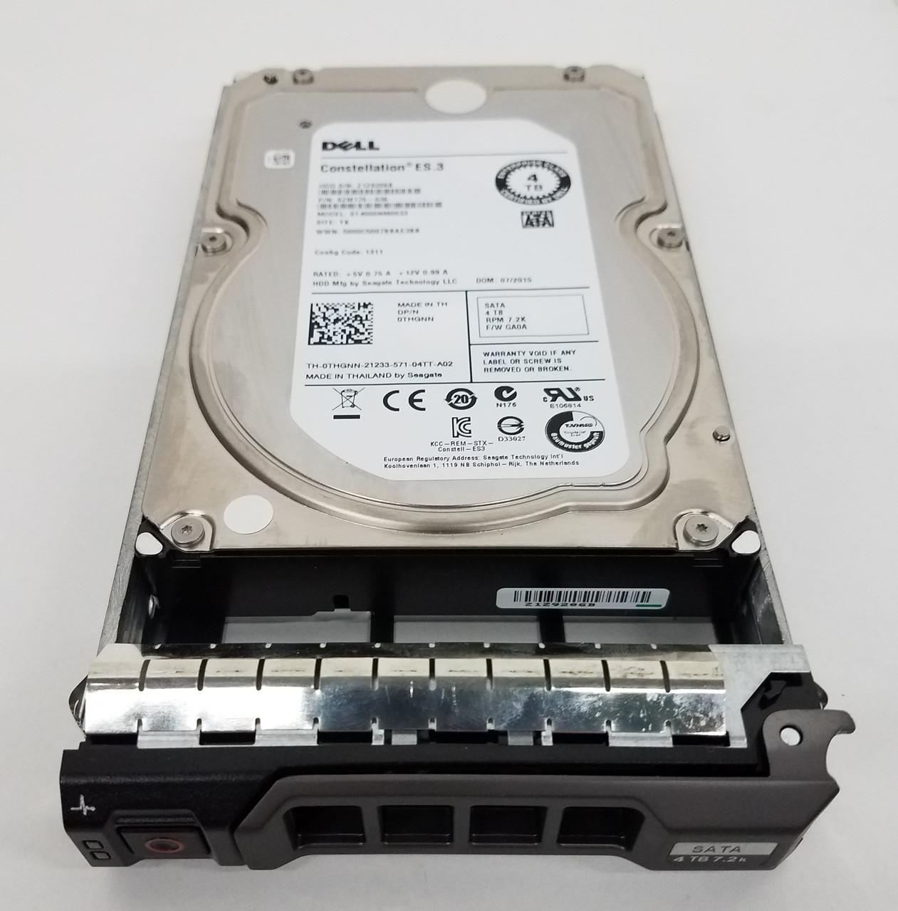 1 Year Warranty New Dell PowerEdge T300 Hot Swap 1TB SAS Hard Drive