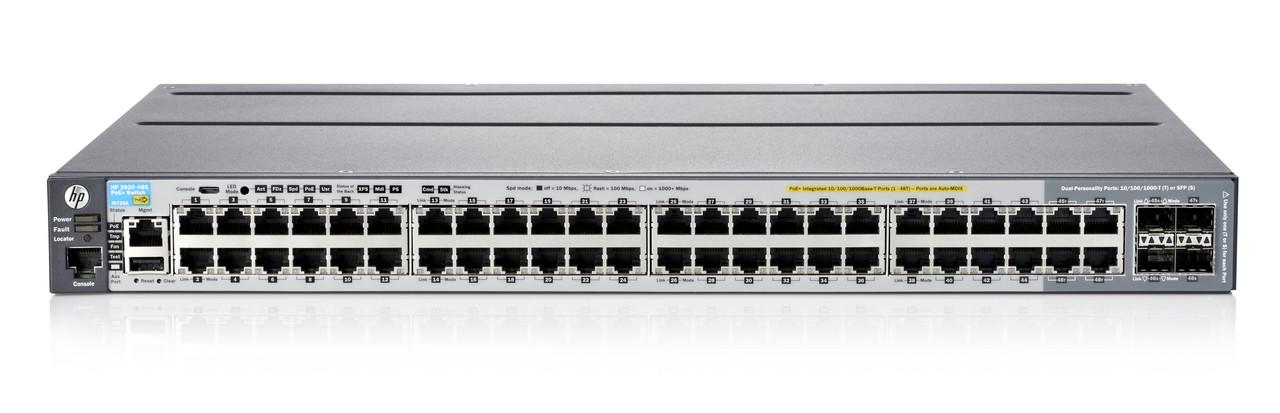 Hpe Aruba Procurve J9729a Aba 2920al 48g Poe Ethernet Managed Switch Wholesale J9729a Aba Price J9729a Aba