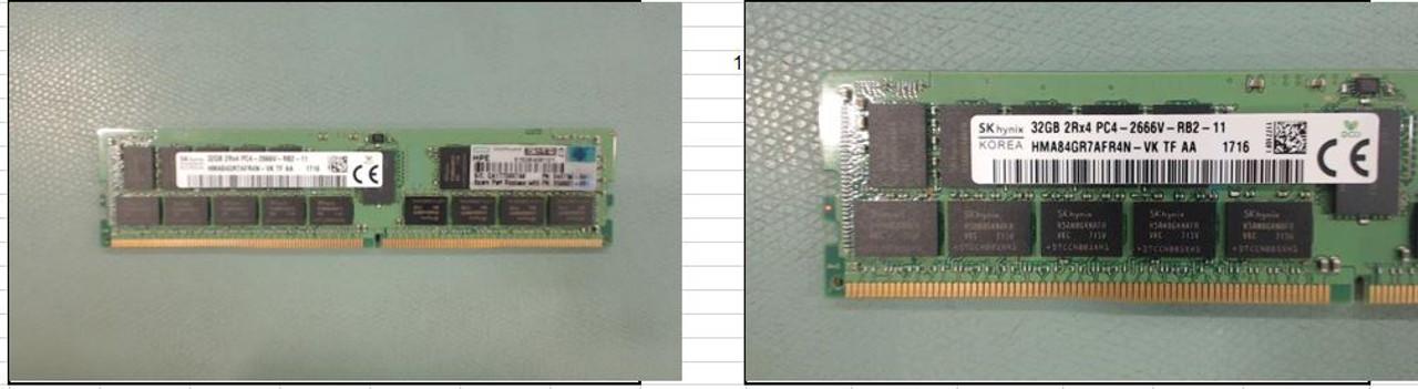 HPE 32GB DUAL RANK X4 DDR4-2666 REG SMART MEMORY KIT 815100-B21 850881-001