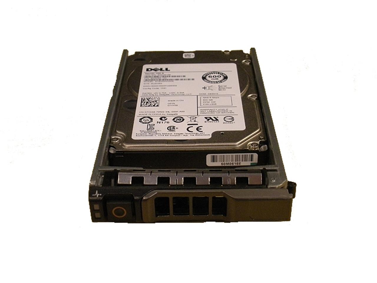 Dell PowerEdge T320 Hot Swap 600GB 10K SAS Hard Drive 1 Year Warranty