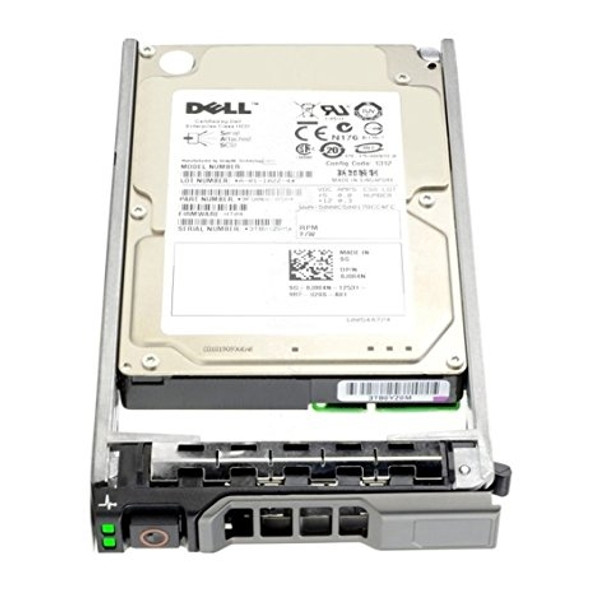 Dell 342-0454 600GB 15000RPM 3.5inch LFF SAS-6Gbps Hot-Swap Hard Drive for PowerEdge and PowerVault Servers (Lifetime Warranty)