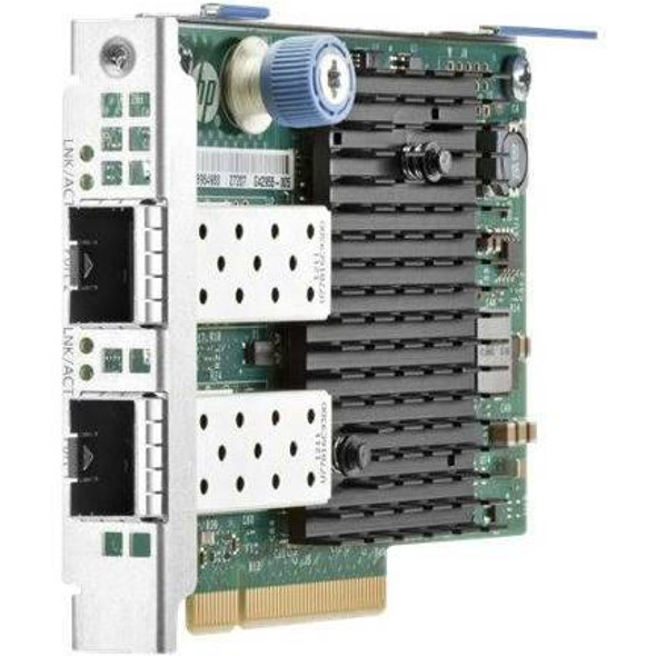 HPE 665243-B21 Dual Port 10Gb Ethernet 560FLR-SFP+ PCI Express 2.0 x8 Network Adapter for ProLiant Gen8 Gen9 Gen10 Servers (Refurbished with 90 Days Warranty)