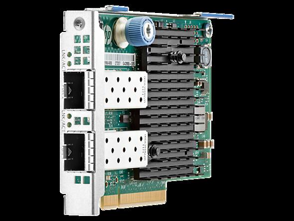 HPE 669281-001 Dual Port 10Gb Ethernet 560FLR-SFP+ PCI Express 2.0 x8 Network Adapter for ProLaint Gen8 Gen9 Gen10 Servers