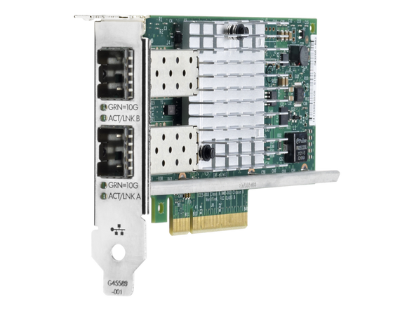 HPE 665249-B21 Ethernet 10Gbps Dual Port PCIe 2.0 x8 560SFP+ Network Adapter for ProLiant Gen8 Gen9 Servers (New Bulk with 1 Year Warranty)