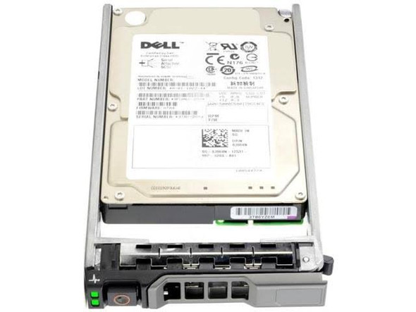 Dell 342-0136 600GB 10000RPM 3.5inch LFF SAS-6Gbps Hot-Swap Hard Drive for PowerEdge and PowerVault Servers (New Sealed Box)