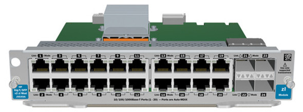 HPE J9548A-61001 20-Port 1000Base-T 2-Port Dual-SFP+ Expansion Module (Brand New with 3 Years Warranty)