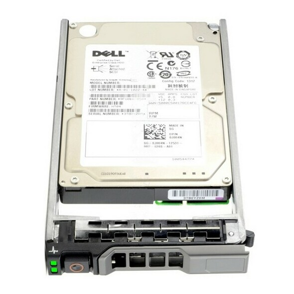 Dell 341-8497 300GB 10000RPM 2.5inch SFF 64 MB Buffer SAS-6Gbps Hot-Swap Hard Drive for PowerEdge and PowerVault Servers (New Bulk Pack with 1 Year Warranty)