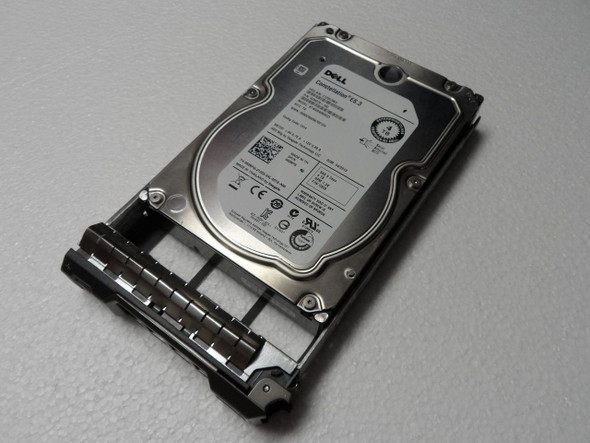 Dell 529FG 4TB 7200RPM 3.5inch LFF 128MB Buffer SAS-6Gbps Hot-Swap Near Line Hard Drive for PowerEdge and PowerVault Servers (New Bulk Pack with 1 Year Warranty)