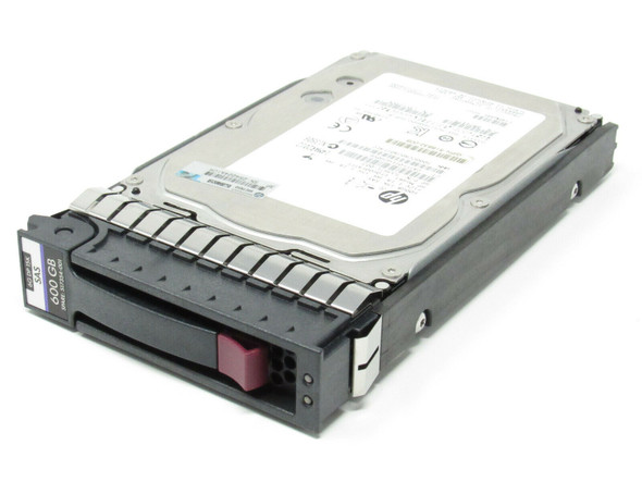 HPE 516828-B21 600GB 15000RPM 3.5inch LFF Dual Port SAS-6Gbps Enterprise Hard Drive for ProLiant Gen5 to Gen7 Servers (New Bulk with 1 Year Warranty)