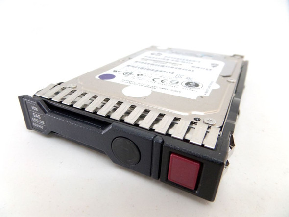 HPE 652566-003 600GB 10000RPM 2.5inch Small Form Factor SAS-6Gbps Hot-Swap SC Enterprise Internal Hard Drive for Gen8 Gen9 Gen10 ProLiant Servers