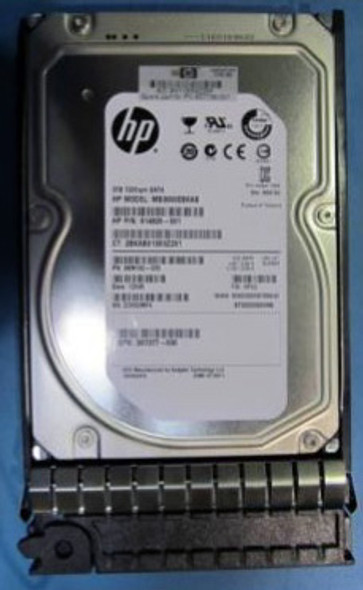HPE MB3000EBKAB 3TB 7200 RPM 3.5 inch LFF SATA-3Gbps Hot-Swap Midline Internal Hard Drive for ProLiant Generation2 to Generation7 Servers (New Bulk Pack with 1 Year Warranty)