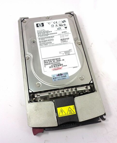 HPE BD3008A4C6 300GB 10000RPM 3.5inch Large Form Factor 80 Pin Ultra-320 SCSI Hot-Swap Internal Hard Drive for Generation1 to Generation7 ProLaint Servers