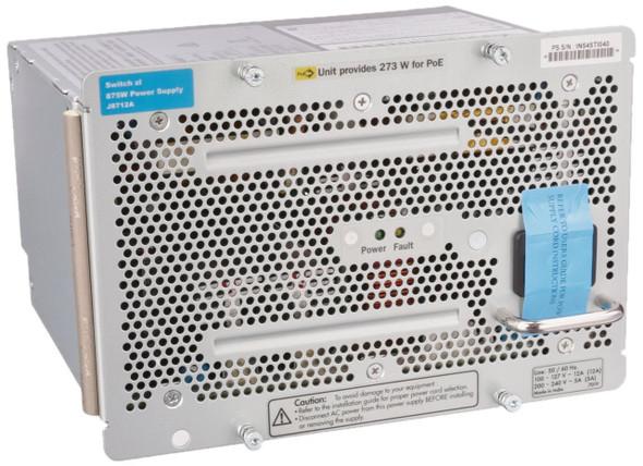 HPE J8712A 875 Watt AC 100-127/200-240 Volt Power Supply for Procurve 48G 5406 zl Switch (Grade A with 90 Days Warranty)