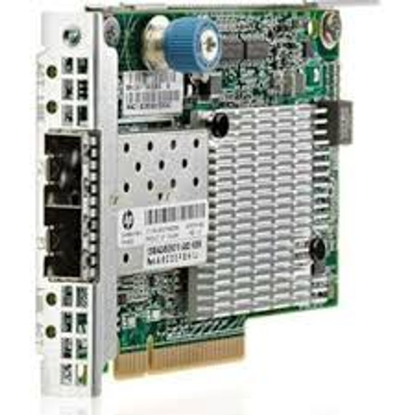 HPE 649869-001 Ethernet 10GBps Dual Port PCI Express 2.0 X8 Plug-in Card GigaBit Server Network Adapter for ProLiant Gen8 Servers