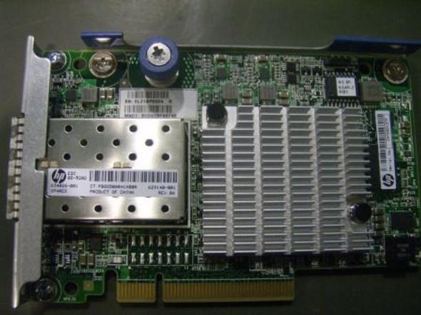 HPE FlexFabric 629142-B21 10Gbps Ethernet Dual-Port PCI Express-2.0 x8 FlexibleLOM 554FLR-SFP+ Network Adapter for ProLaint DL/SL Gen8 Servers (Brand New with 3 Years Warranty)