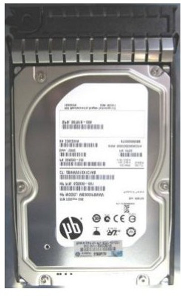 HPE 625140-001 3TB 7200RPM 3.5inch LFF Dual Port SAS-6Gbps Midline Hard Drive for ProLiant Generation2 to Generation7 Servers (Grade A - Clean with Lifetime Warranty)