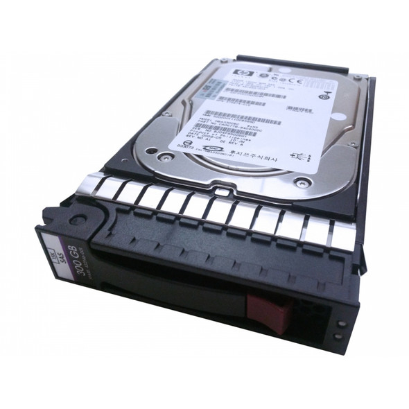 HPE 480528-001 300GB 15000RPM 3.5inch Large Form Factor SAS-3Gbps Hot-Swap Internal Hard Drive for Generation2 to Generation7 ProLiant Servers and Storage Arrays (New Bulk Pack with 1 Year Warranty)