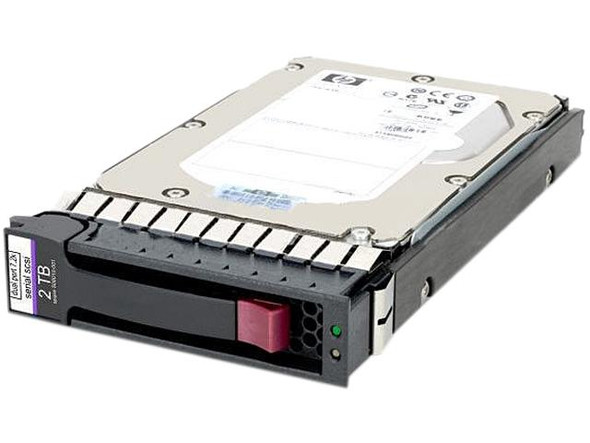 HPE 605475-001 2TB 7200RPM 3.5inch Large Form Factor SAS-6Gbps Hot-Swap Midline Hard Drive for MSA2