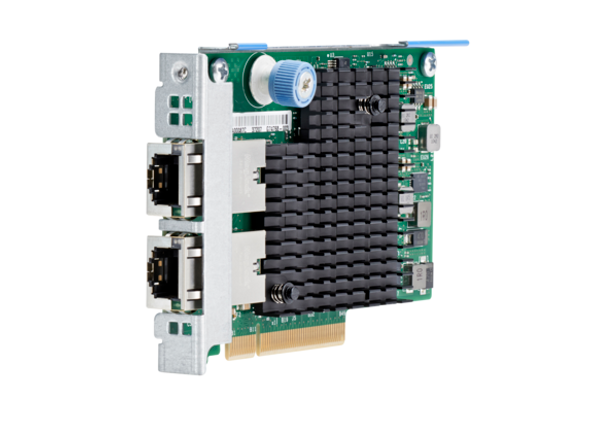 HPE 700699-B21 10Gbps Ethernet Dual Port PCI Express 2.1 x8 561FLR-T Network Adapter for Gen8 Gen9 ProLiant and Apollo Servers (Brand New with 3 Years Warranty)