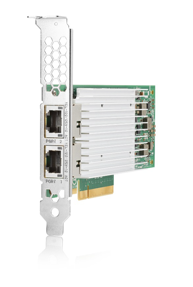 HPE FlexFabric 700759-B21 Dual Port 10Gbps Ethernet PCI Express 2.0 x8 533FLR-T Network Adapter for ProLaint Gen9 Gen10 DL and Apollo Gen10 XL Servers (New Bulk with 1 Year Warranty)