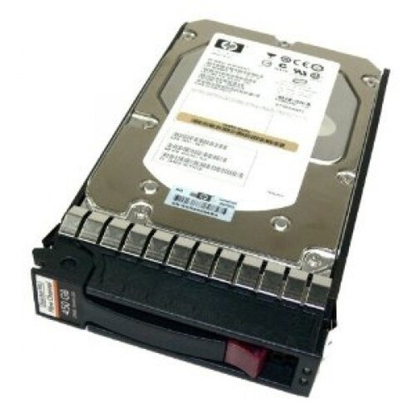 HPE 454412-001 450GB 15000RPM 3.5inch Large Form Factor Dual Port Fibre Channel-4Gbps Hard Drive for StorageWorks (Grade A with Lifetime Warranty)