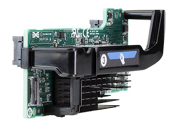 HPE Flexfabric 700763-B21 20GBps PCI Express 3.0 X8 Gigabit Ethernet x 2 Network Adapter for ProLiant Gen9 Servers (Brand New with 3 Years Warranty)