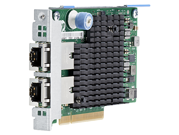 HPE 727055-B21 Ethernet 10Gb Dual Port PCI-Express 3.0 x8 562SFP+ Network Adapter for ProLiant Gen9 Gen10 Servers (Brand New with 3 Years Warranty)