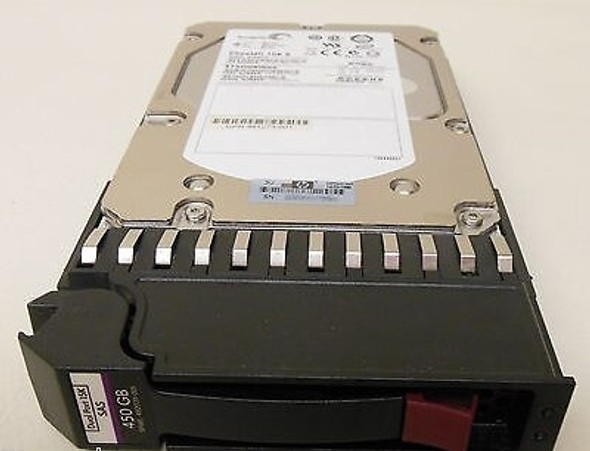 "HPE 480939-001 450GB 15000RPM 3.5inch Large Form Factor SAS-3Gbps Dual Port Hard Drive for Modular Smart Array2 and StorageWorks Servers (New Bulk ""O"" Hour With 1 Year Warranty)"