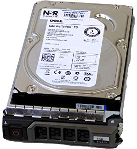 Dell 342-2100 2TB 7200RPM 3.5inch LFF SAS-6Gbps Hot-Swap Low Profile Internal Hard Drive for PowerEdge and PowerVault Servers (Lifetime Warranty)