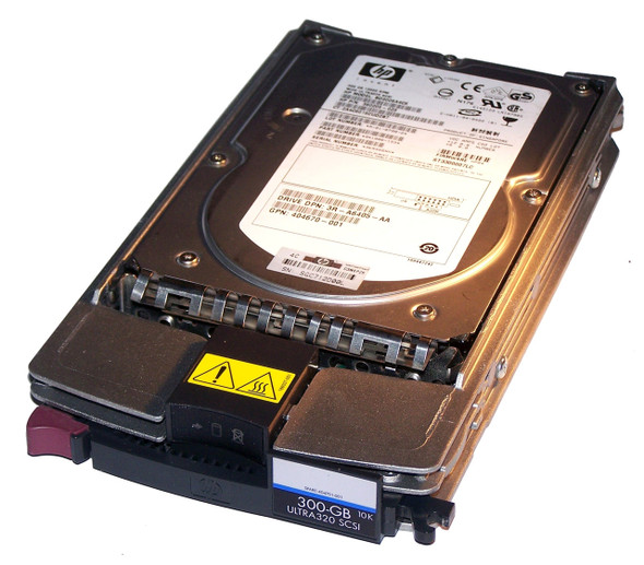 HPE BF3008B26C 300GB 15000RPM 3.5inch LFF Wide Ultra-320 SCSI 80-Pin Hard Drive for ProLiant Gen1 to Gen4 Servers (Refurbished with 90 Days Warranty)