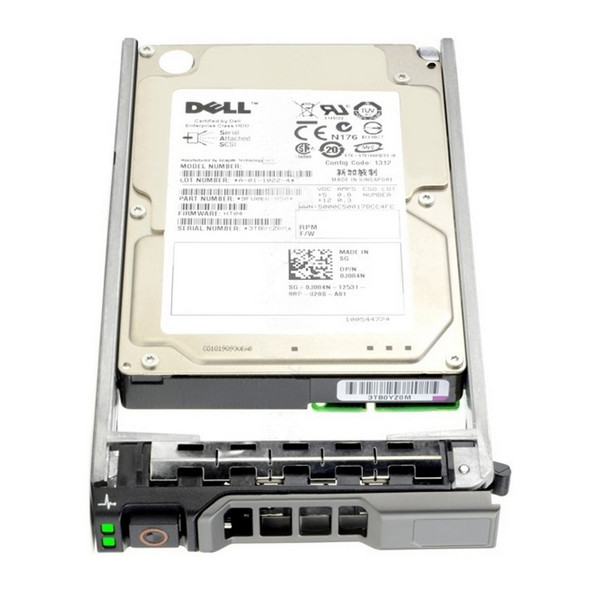 Dell 0CR272 300GB 15000RPM 3.5inch LFF SAS-3Gbps Hot-Swap Internal Hard Drive for PowerEdge and PowerVault Servers (New Bulk Pack with 1 Year Warranty)