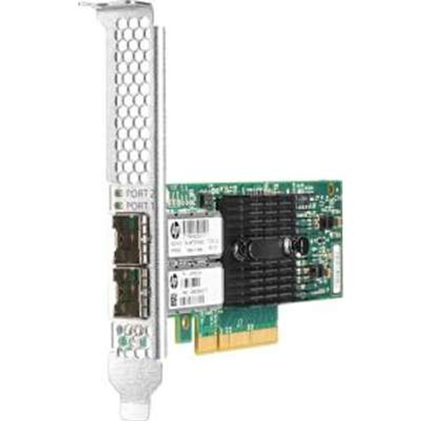 HPE 790314-001 Ethernet 10Gb Dual Port PCI Express 546SFP+ Network Adapter for ProLiant Gen9 and Apollo Gen9 Servers (Brand New with 3 Years Warranty)