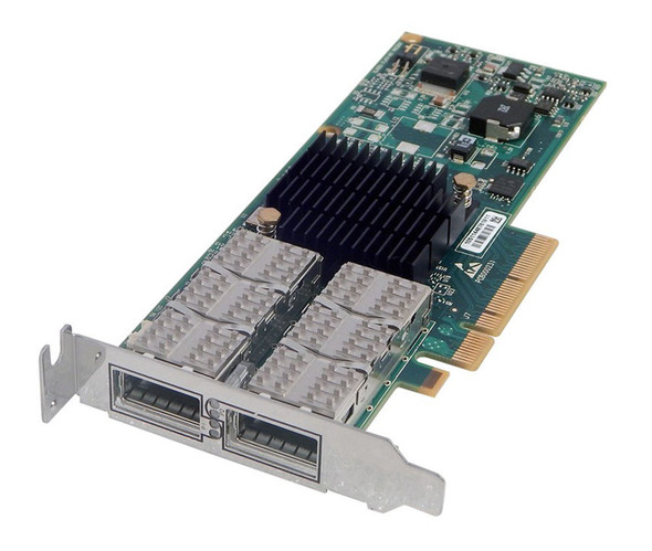 HPE 592520-B21 Infiband 40GBps Dual Port QDR ConnectX PCI Express-2.0 x8 Plug-In Card Wired Network Adapter for ProLiant Servers (90 Days Warranty)
