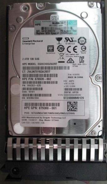 HPE Q2R41A 2.4TB 10000RPM 2.5inch SFF 512e Dual Port SAS-12Gbps Enterprise Hard Drive for MSA 1040/2040 SAN Storage (Brand New with 3 Years Warranty)