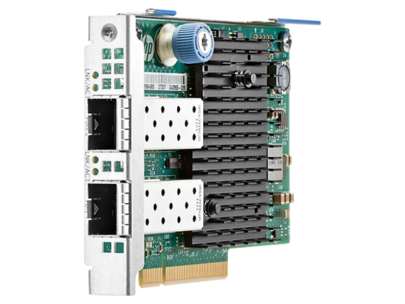 HPE 665243-B21 10Gb Dual Port 560FLR-SFP+ PCI Express 2.0 x8 Plug-in Card Wired Ethernet Network Adapter for ProLiant Gen8 Gen9 Server (Brand New with 3 Years Warranty)