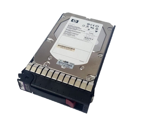 HPE 516832-004 450GB 15000RPM 3.5inch LFF Dual Port SAS-6Gbps Hot-Swap Enterprise Hard Drive for ProLiant Gen5 Gen6 and Gen7 Servers (Grade A with Lifetime Warranty)