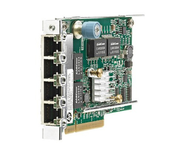 HPE 629135-B21 NC375T 1Gbps Quad Port PCI Express- 2.0 x4 FlexibleLOM Gigabit Ethernet Wired Network Adapter for ProLiant Server