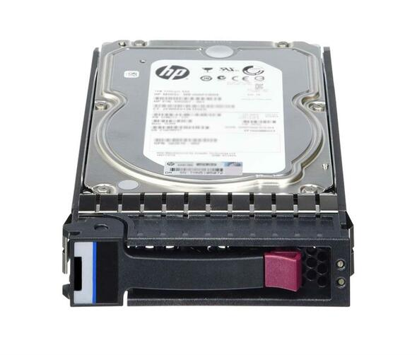 "HPE AW555A 2TB 7200RPM 3.5inch LFF SAS-6Gbps Hot-Swap Midline Hard Drive for Modular Storage Array 1040/2040 SAN Storage (New Bulk ""O"" Hour With 1 Year Warranty)"