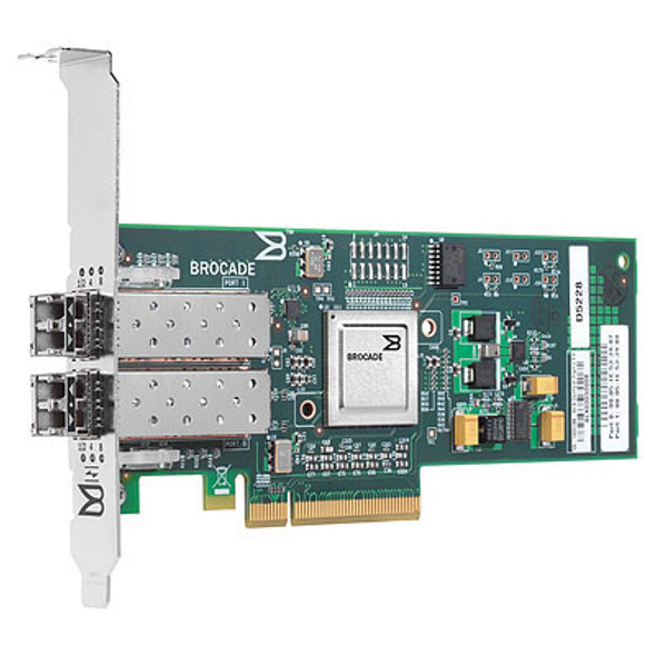 HPE AP770A 82B 8GB Dual Port PCI-Express Fiber Channel Host Bus Adapter for ProLiant Servers (New Bulk Pack with 1 Year Warranty)