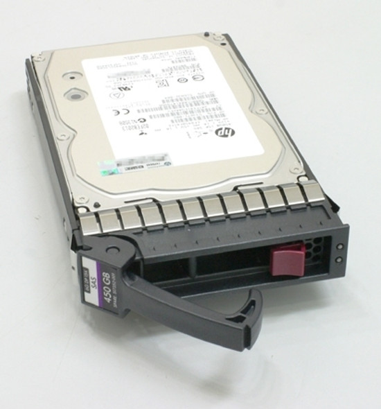 HPE 581310-001 450GB 10000RPM 2.5inch SFF Dual Port SAS-6Gbps Enterprise Hard Drive for ProLaint Gen4 to Gen7 Servers (New Bulk with 1 Year Warranty)
