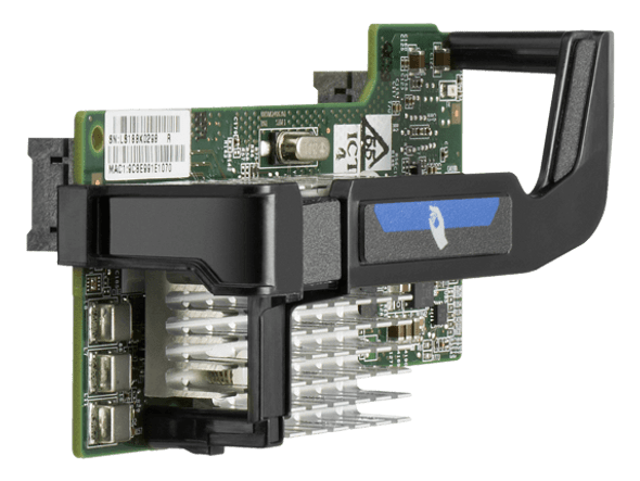 HPE Flexfabric 656590-B21 10Gbps Dual Port PCI Express 2.0 x8 Gigabit Ethernet Wired Network Adapter for ProLiant Generation8 Servers (New Bulk Pack with 1 Year Warranty)