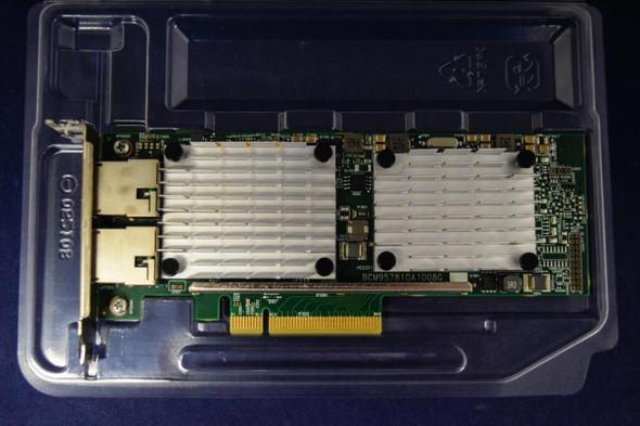 HPE 656596-B21 Dual Port 10Gbps Ethernet PCI Express 2.0 x8 530T Network Adapter for ProLiant Gen9 Gen10 Apollo Gen9 Gen10 Servers (New Bulk with 1 Year Warranty)