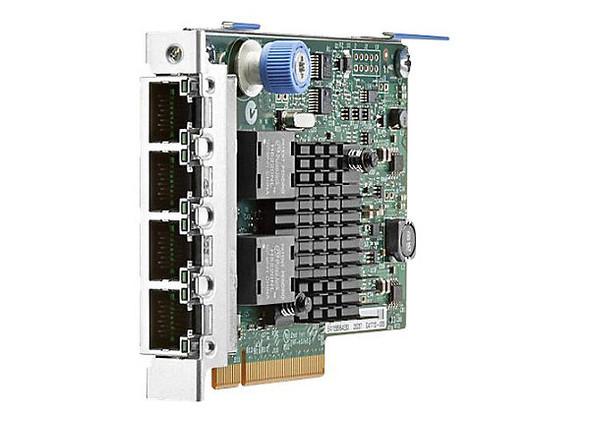 HPE 366FLR 665240-B21 1Gbps Quad Port PCI Express 2.1 x4 FlexibleLOM Gigabit Ethernet Network Adapter for ProLaint Server