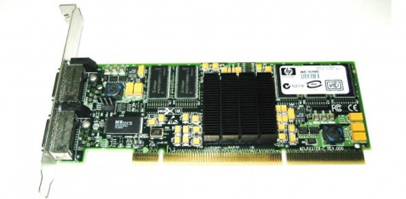 HPE NC570C 376158-B21 10Gbps Dual Port PCI-X/133 MHz microGiGaCN Gigabit Ethernet Wired Network Adapter for ProLiant Server