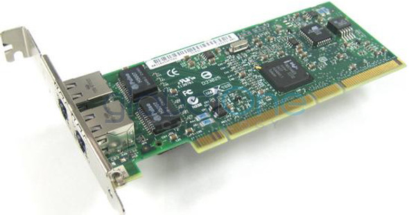 HPE NC6170 313879-B21 1Gbps Dual Port PCI Express-X 133 MHz 1000Base-SX Ethernet Network Adapter for ProLiant Server