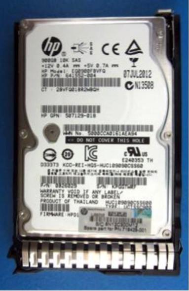 HPE 719424-B21 900GB 10000RPM 2.5inch SFF SAS-6Gbps SC Enterprise Hard Drive for ProLaint Gen8 Gen9 Gen10 Servers (Brand New with 3 Years Warranty)