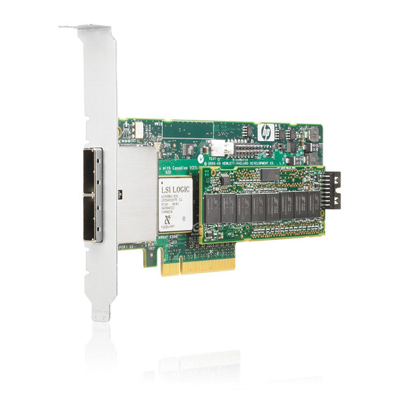 HPE 435129-B21 E500 256MB PCI Express x8 SATA/SAS Smart Array RAID Controller for ProLiant Server