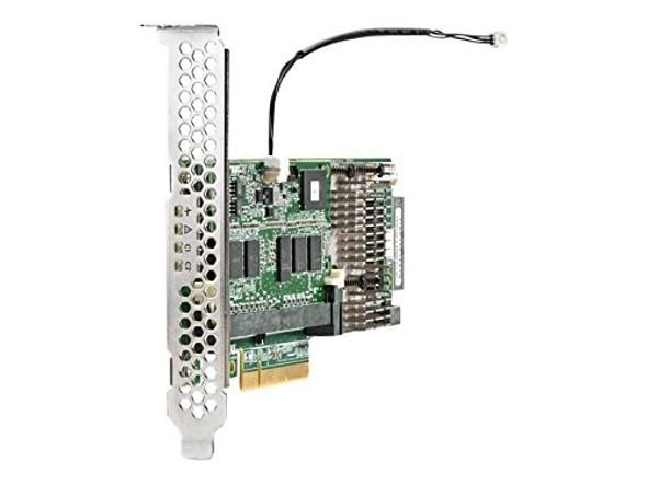 HPE 726821-B21 Smart Array P440/4GB Flash Backed Write Cache (FBWC) 12Gb Single Port PCI Express 3.0 x8 Internal SAS (RAID) Storage Controller for ProLiant Gen9 Servers (1 Year Warranty)