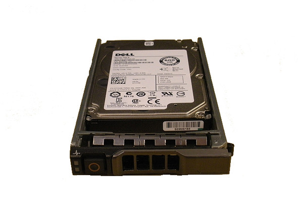 Dell 07T0DW 600 GB 10000 RPM 2.5 inch SFF 16 MB Buffer SAS-6Gbps Hot-Swap Hard Drive for PowerEdge Servers (Brand New with 3 Years Warranty)