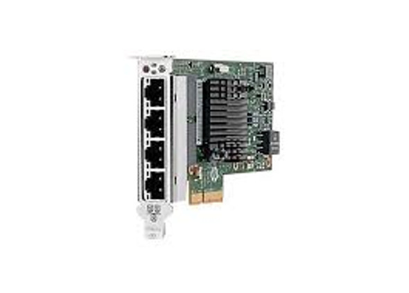 HPE 816551-001 1Gb Quad Port PCI Express-2.0 Gigabit Ethernet Copper Network Adapter for ProLiant Gen9 Server (Brand New with 3 Years Warranty)